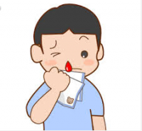 子供の鼻血の原因と止め方。いい例、悪い例。