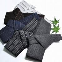 男性の浴衣の着付け方法、帯の結び方