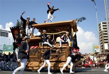 大阪 岸和田だんじり祭り2013日程は
